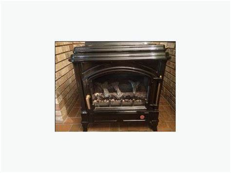 efel free standing propane fireplace saanich