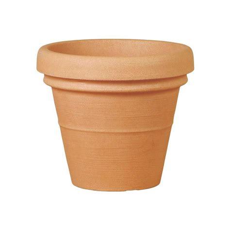 il vaso vaso classico in plastica con doppio bordo teraplasta