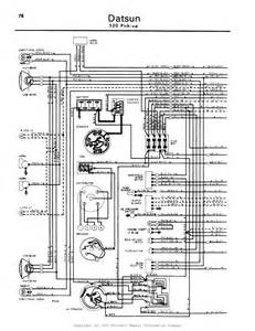 datsun 620 wiring diagram get free image about