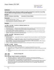 Sle Resume Cost Accounting Manager Cost Accountant Resume Sles 28 Images Accounting Resume Sales