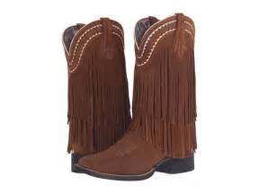 ariat fringe wide square toe zappos free shipping