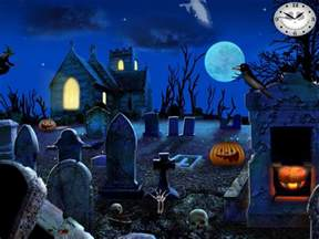 Home Decor 3d by Free Halloween Screensavers Graveyard Party