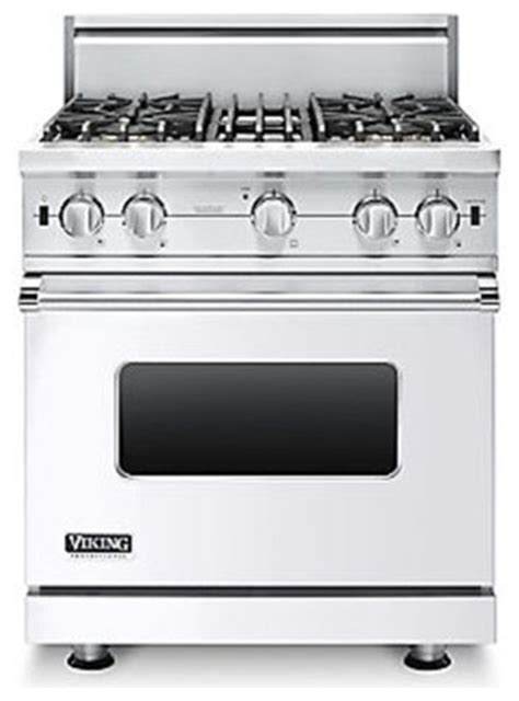 viking 30 gas range viking 30 quot pro style gas range white liquid propane vgcc5304bwhlp gas ranges and electric