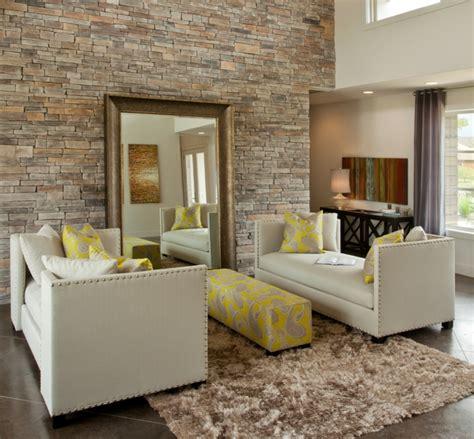 Wandgestaltung Steine Wohnzimmer by 44 Wandgestaltung Ideen Wie Sie Den Raum Beleben