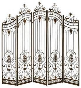 Metal Room Divider Metal Divider Privacy Screen Bronze Gold Accent Decor Traditional Screens And Room