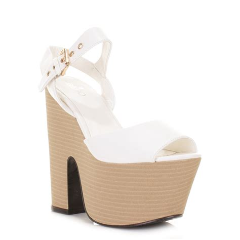 cheap high heel wedges white platform heels cheap is heel