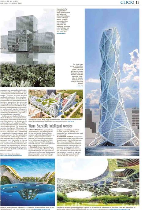 lava laboratory  visionary architecture bionic tower features  sudkurier