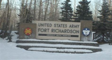 anchorage ak united states fort richardson picture