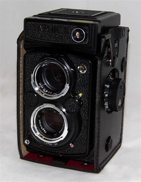 file vintage yashica mat 124g lens reflex