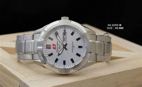 Swiss Army Cobra Silverwhite jual swiss army 2255 silver white di lapak queenwatch