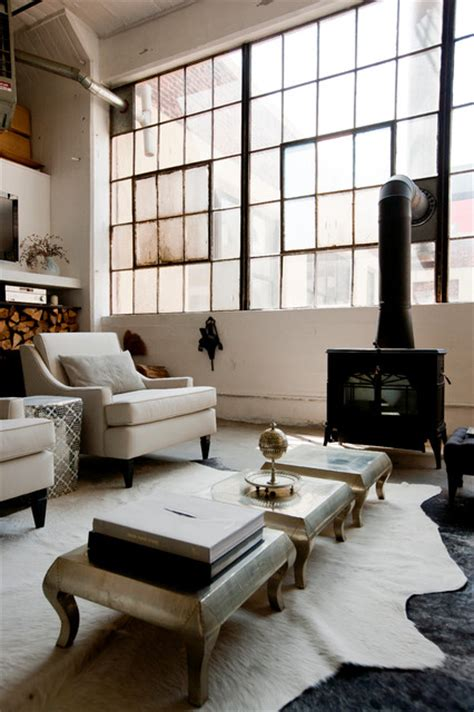living room brooklyn ny my houzz international meets industrial in a brooklyn