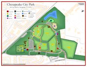 map of parks 9 11 memorial at chesapeake city park