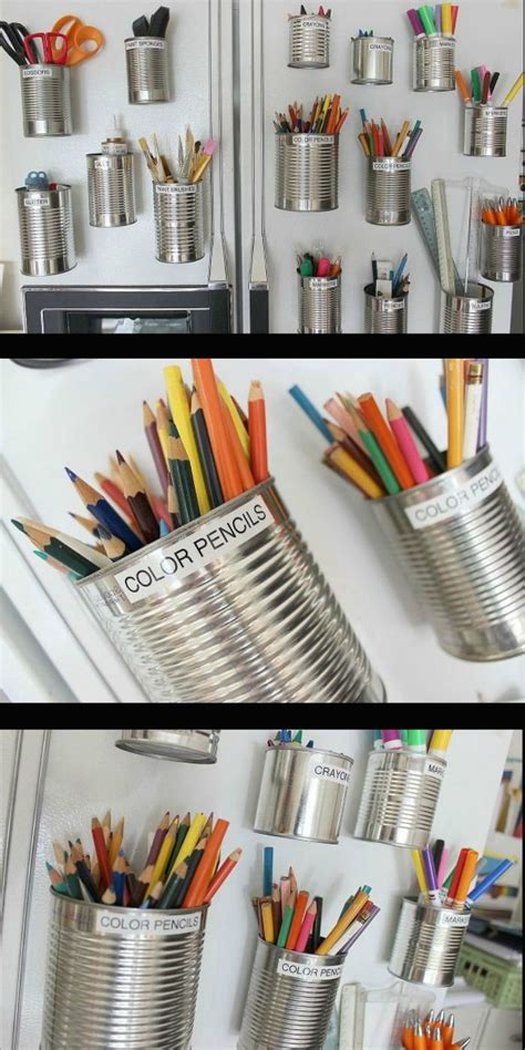 home organization art supplies organize  art