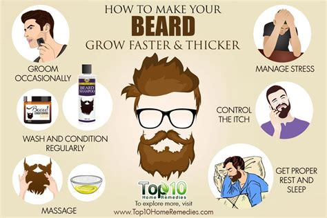 how to crate a grown how to make your beard grow faster and thicker top 10 home remedies