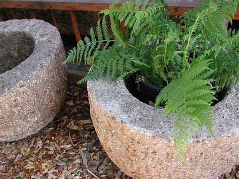 Rock Planters How To Make by Hypertufa Planter Make