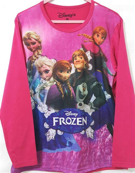Setelan Anak Cewek Setelan Paddle 2 4 6t baju anak frozen together pink lengan panjang 4 14t grosir eceran baju anak murah berkualitas