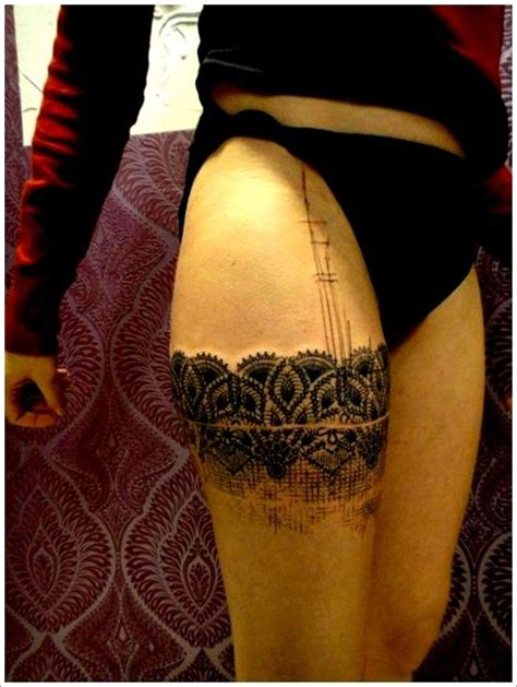 thigh tattoo questions 150 of the sexiest thigh tattoos you ll ever see lace