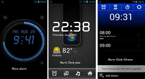 alarm app android top 3 android alarm apps best free paid