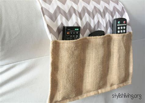 remote control holder for bed remote holder diy sewing projects pinterest