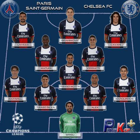 Psg Calendrier Ligue Des Chions 2013 Psg Chelsea Cfc