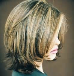 layered bob hairstyles with bangs official