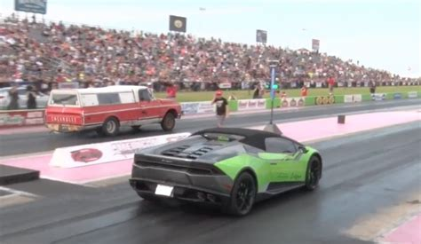 truck lamborghini bangshift com another one bites the dust farmtruck versus