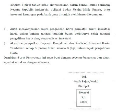 format surat pernyataan kepemilikan harta mengenal formulir formulir pengunan pajak forum pajak