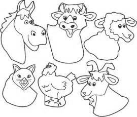 animal puppet templates krowemoh
