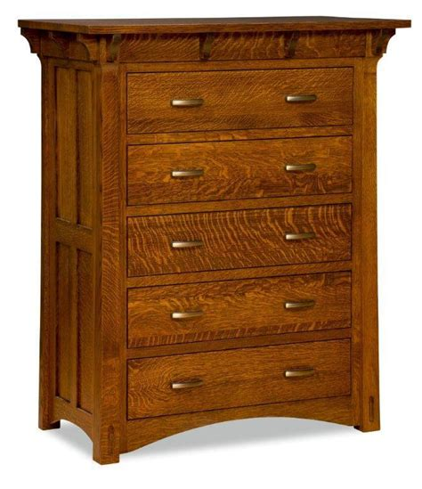 Mission Chest Of Drawers by Amish Manitoba Mission Chest Of Drawers