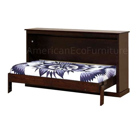 twin murphy bed size with avalon murphy bed made in usa american eco furniture