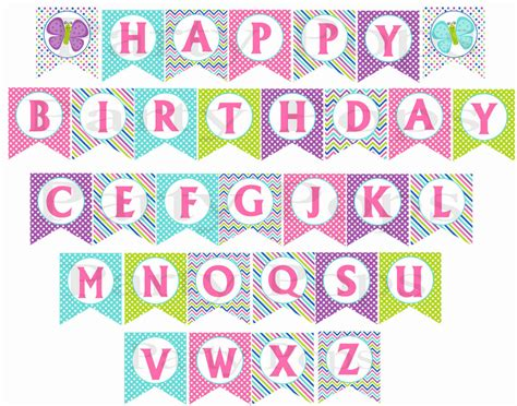 printable birthday banner free printable birthday banners personalized maginezart
