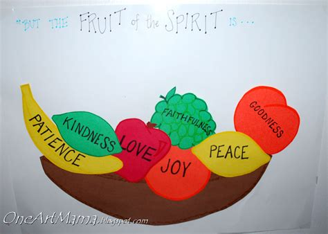 fruit of the spirit crafts for faithfulness latta creations
