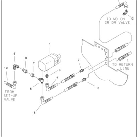 ford 1710 wiring diagram for charging circuit