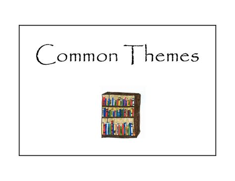 themes common common themes formatted