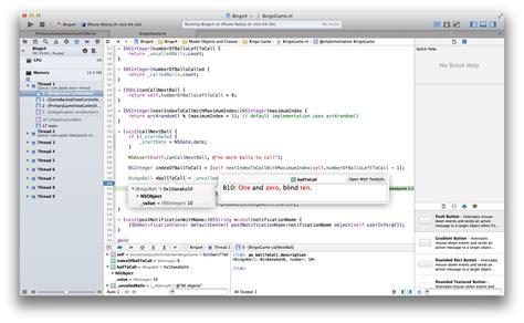Xcode Quick Look Tutorial | xcode 5 1 s custom quick look debug feature benjamin mayo