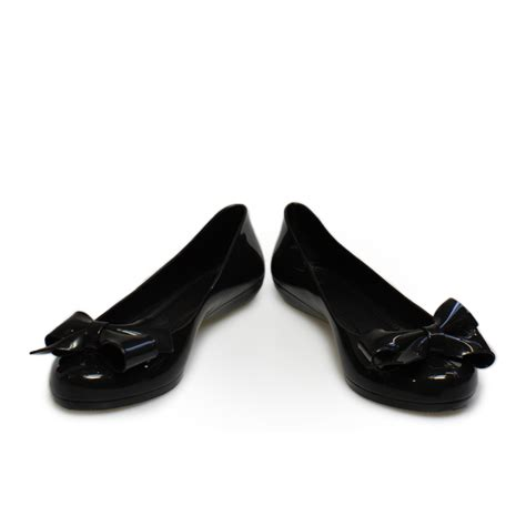black ballerina shoes mel strawberry bow black bow pumps ballerina shoes size 3 8