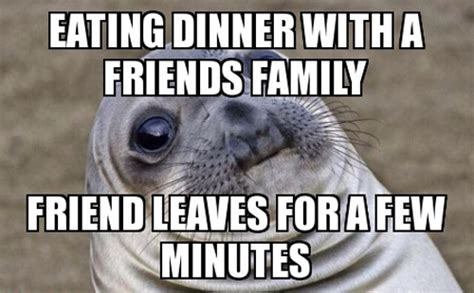 Awkward Seal Meme - that awkward moment funny memes
