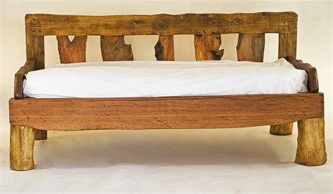 wooden day bed bespoke order for clare hyland by kwetu