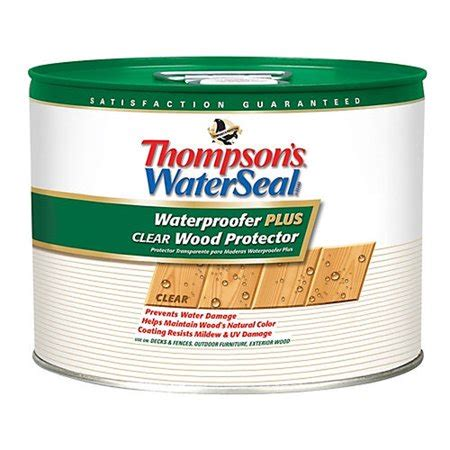 thompson  waterseal thompson clear woodprotect  voc
