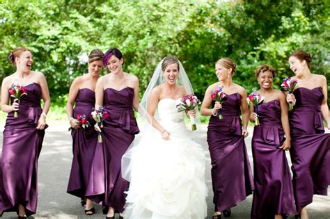 elegant eggplant navy carolina wedding every