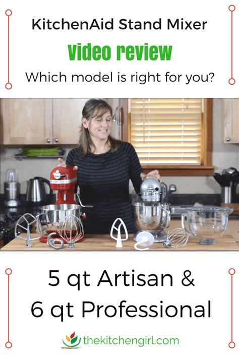 KitchenAid Stand Mixer Video Review: Artisan vs