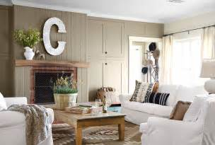 Country Livingrooms Recent Styling Work Texas Ranch Heather Bullard
