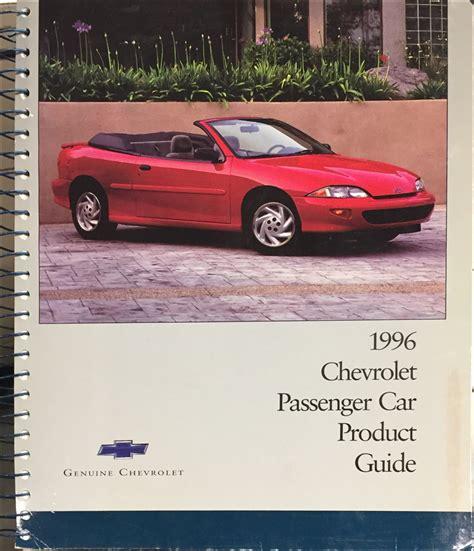 car owners manuals free downloads 1996 chevrolet impala free book repair manuals 1996 chevy impala ss owner s manual original