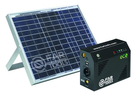 alimentatore solare station d alimentation solaire ecosource premier 200w