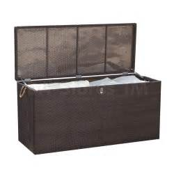 manhattan wicker cushion storage box source outdoor