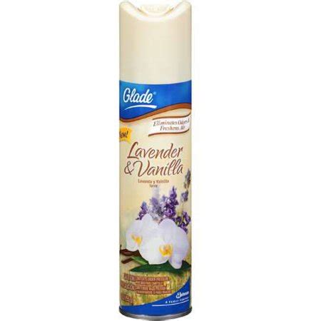 Glade Lavender glade lavender vanilla scent spray 9 oz walmart