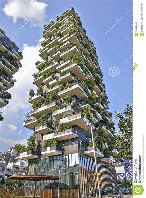 vertical forest building in vancouver features an vertical forest apartment building in the porta nuova area