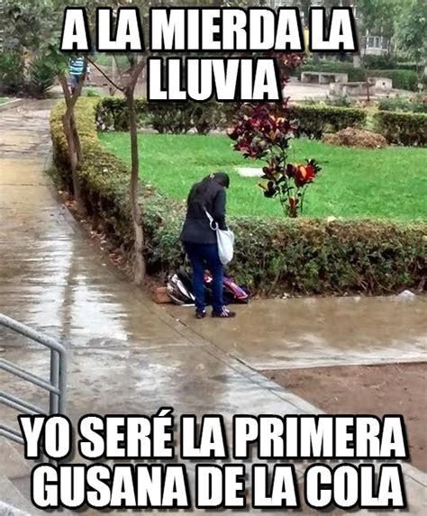 imagenes comicas de lluvia a la mierda la lluvia fggdf meme en memegen