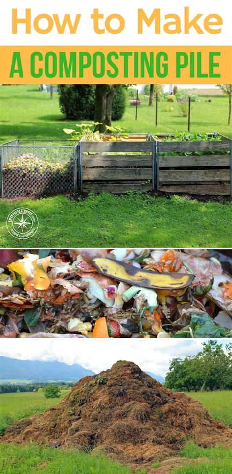 how to make a compost pile in your backyard how to make a composting pile