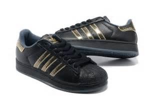 Adidas Superstar Shoes Black Adidas Discount Adidas Superstar 2 Originals Shoes Black Gold